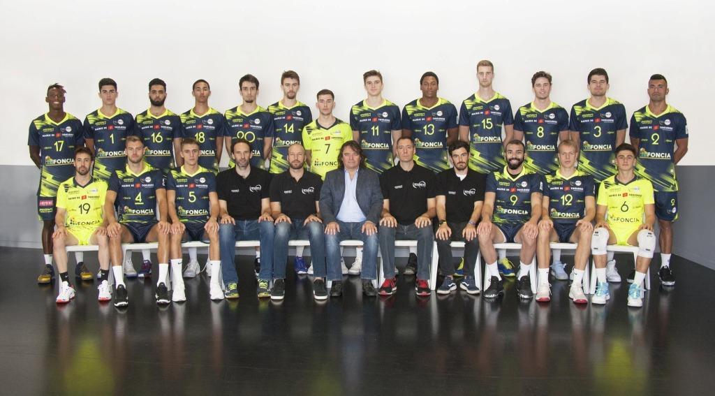 Les Spacer's Volley Toulouse lors de la saison 2019-2020 par Sébastien Ognier