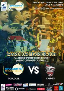 Yoan ambianceur et DJ pour les Spacer's Volleyball Toulouse