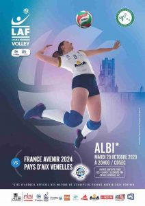 Yoan speaker dj pour événement sportif de France Avenir 2024 en volleyball