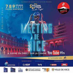 Yoan Maitre de Cérémonie pour la Fédération Française de Natation à Nice