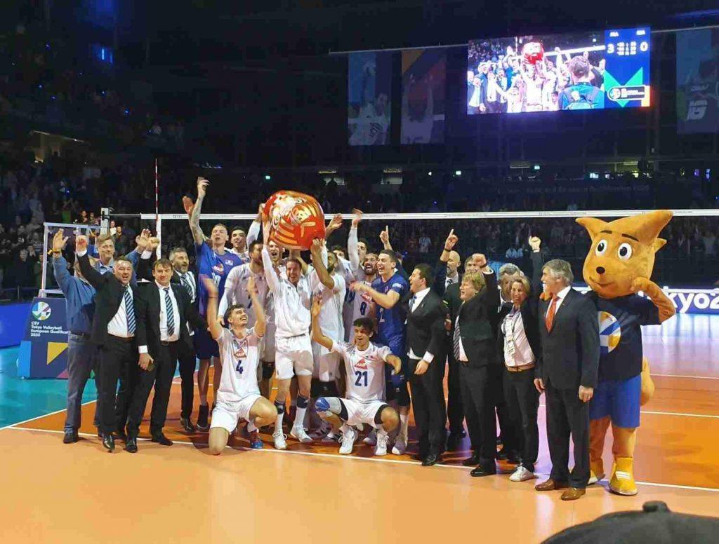 Yoan speaker officiel de l'Equipe de France de Volleyball