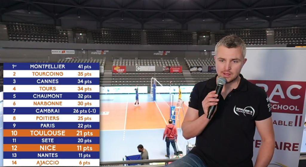 Animateur d'émission pour le volleyball à Toulouse