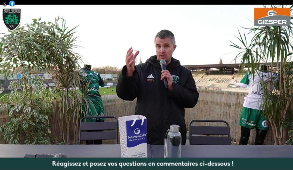 Yoan, présentateur commentateur du live facebook de Montauban